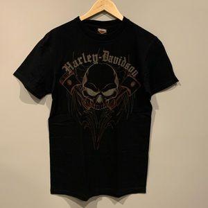 Harley-Davidson Shirts - Rocky's Harley Davidson London, On Biker T-Shirt